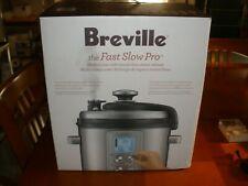 Breville BPR700BSS Fast Slow Pro 6 Qt. Multicooker-New, In Box-$380 Retail