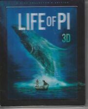 Life of Pi 3D Blu Ray Steelbook