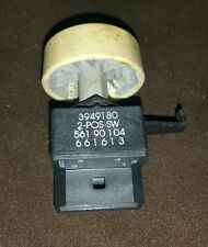TESTED 2 Position Switch 3949180 for whirlpool, Kenmore Washer with knob!