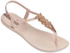 Ipanema Women's Premium Sunray Plastic Toe Post Sandal Ivory Size 4 B0RIjO