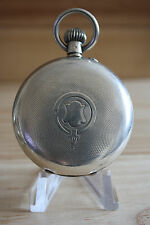 L. Madison Ottoman Silver 0.935 Pocket Watch Very Beautiful