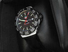 TAG HEUER MEN'S F1 FORMULA GRANDE WATCH 200m DIVING BLACK WAH1110 w/STRAP PAPERS