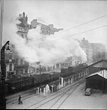 NANTES c. 1950 -  Train Gare  Loire Atlantique - Négatif 6 x 6 - N6 PdeL4