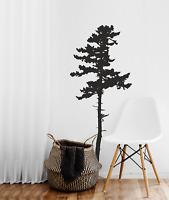 Wall Art Tree Nature Pine tree Decal /Sticker Wild Decor Wall art Forest