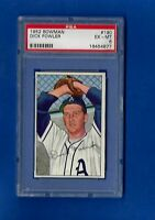 1952 BOWMAN #190 DICK FOWLER PSA 6 EX-MT PHILADELPHIA ATHLETICS