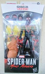 "Marvel Legends Miles Morales Action Figure 6""  Armadillo BAF Spiderman In Stock"
