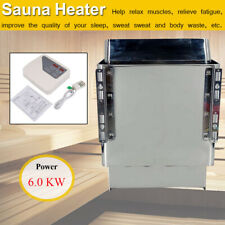 More details for electric sauna heater with external control 6kw 220v sauna stove oven dry steam