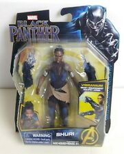 "Marvel Black Panther ""Shuri""  Action Figure 6 inch with Vibranium Gear"