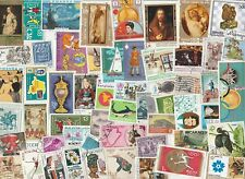 WORLDWIDE 100 DIFFERENT USED STAMPS