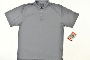 NEW Tru Spec Men's Size 2XL Polo Pocket Gray