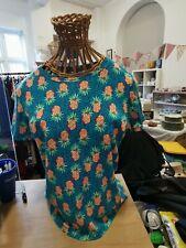 Tu Ladues T Shirt Pineapple Pattern Size 18