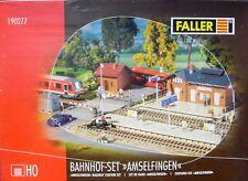 FALLER 190277 BAHNHOF SET * AMSELFINGEN * HO - NEU