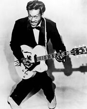 MUSICIAN CHUCK BERRY ROCK AND ROLL 8X10 PHOTO 1957
