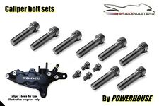 Suzuki GSX-R750 SRAD Stainless joint bolt set front brake calipers 1998 1999