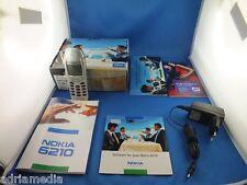ORIGINALE Nokia 6210 argento auto telefono cellulare esposizione dispositivo MADE IN GERMANY