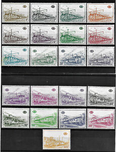 BELGIUM - PARCEL ¨POST STAMPS - YT CP 378 to 387 + 424**