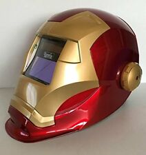 Pantalla electrónica para soldadura tipo casco. Regulable-Cevik Ironweld