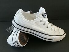 Converse Women's Size 5.5 ALL STAR Chuck Taylor CT OX WHITE 547295F