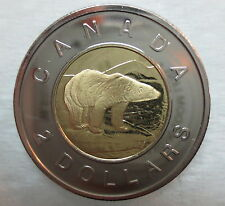 2003 CANADA TOONIE PROOF-LIKE OLD EFFIGY TWO DOLLAR COIN
