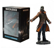 "Watch Dogs Aiden Pearce Toy Figure Statue Figurine 10"" New in Box"