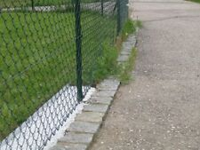 20x Garden Border Lawn Edging Metalfence for straight or curved installation