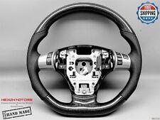 Chevrolet Corvette C6 Z06 Z1 Perf Black Stitch Thick Carbon Steering Wheel V1
