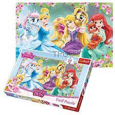 TREFL 24 PIÈCES MAXI enfants filles Disney Princesses grand Puzzle NOUVEAU