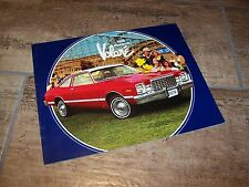 Catalogue  / Brochure  PLYMOUTH Volaré 1978 //