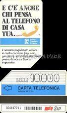 PUBBLICA FIGURATA C&C 2174 N° GOLDEN 95 - BANCA POPOLARE DI LECCO - USATA