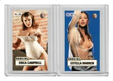 Estella Warren rare MH Booking #'d 2/3 Tobacco card no. 387