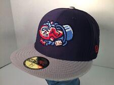 Jacksonville Jumbo Shrimp Hat Minor League Baseball New Era 59Fifty 7 5/8 SAMPLE