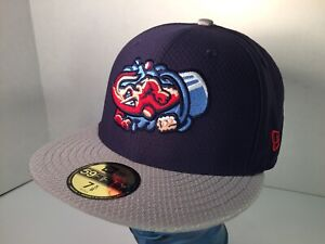 Jacksonville Jumbo Shrimp Hat Minor League Baseball New Era 59Fifty 7 5/8 SAMPLE