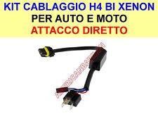 KIT CAVI RICAMBIO BI XENON H4 BIXENO HID CABLAGGIO XENON CAVO AUTO / MOTO h4-3
