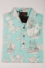 "NEW 399$ Luxury LEONARD PARIS Polo Shirt Man Cotton Size XS ""GALLEONS"""