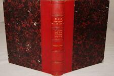COURS DE FORTIFICATION ECOLE SPECIALE MILITAIRE 1874 RELIURE CROQUIS