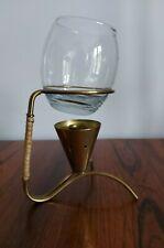 Frederick Weinberg Mid Century Brandy Glass Warmer in Brass