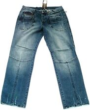 Nine Divine Bleached Stonewash 8 POCKET's Clubwear JEANS W38 L34 38/34
