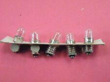 5 Pcs 6v Lamp Bulbs Hi Quality British made in England  Lilliput LES CM342 EW10