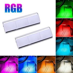LED Car Accessories Interior Floor Decorative RGB Atmosphere Lamp Ambient Lights