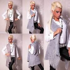 Ärmellose Damen-Pullover & -Strickware aus Wolle ohne Verschluss
