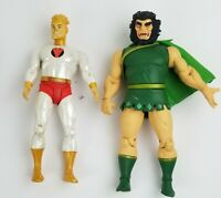 """DC Direct New Gods Series Universe Lightray and Kalibak 7"""" Action Figure Loose"""