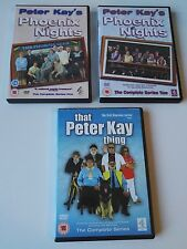 Phoenix Nights Complete TV Series 1 & 2 DVD dvds & Rare that Peter Kay thing