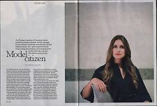 Lauren Bush Lauren Magazine Interview August 2012