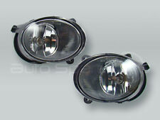 TYC Fog Lights Driving Lamps Assy with bulbs PAIR fits 2005-2007 AUDI A6