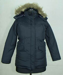 GIRLS MASSIMO DUTTI JACKET HOODY ZIP DOWN PLUMES SIZE 11- 12 YRS EXCL