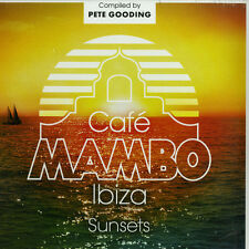 CAFE MAMBO IBIZA SUNSETS Compiled by Pete Gooding 2015 UK vinyl 2-LP NEW/SEALED
