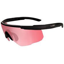 8683ec2ecc5 Wiley X Saber Advanced Gafas Balísticas Espuma Vermillion Lente Marco Negro  Mate