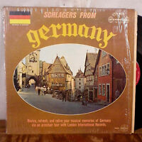 Schlagers From Germany LP London WB ffrr UK press + shrink VG+