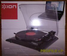 EZ ION Audio PROFILE LP Vinyl Conversion Turntable Convert CD Digital MP3 iPod