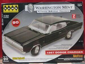 Hawk Washington Mint 1967 DODGE CHARGER 1/24 Scale Die-Cast Model Kit Sealed New